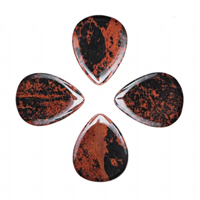 Lava Tones - Mahogany Obsidian - 4 Picks | Timber Tones